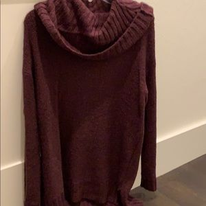 Mossimo long cowl neck sweater